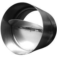 Clapet anti-retour 125mm , conduit de ventilation