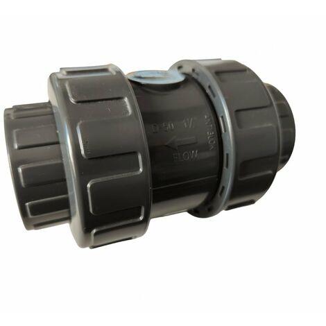 Clapet anti-retour à coller Pvc pression diam. 63