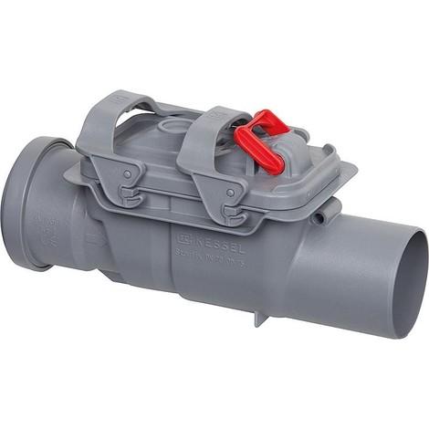 Clapet anti-retour double Staufix DN 70 avec siphon et branchement lave-linge