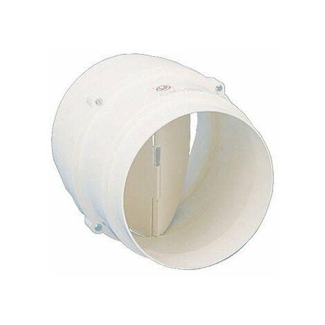 Clapet anti-retour multi-diamètres CM 130 pour conduits rigides ronds PVC - ø120-130mm - ø125-110mm