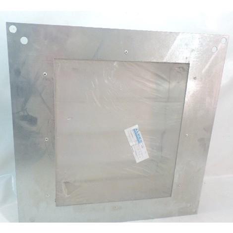 Clapet anti-retour pour tourelle de desemfumage ext platine 519X519mm cadre int 380X328mm 1.2 / 1.5 / 3.2 VELONE ALDES 11021260