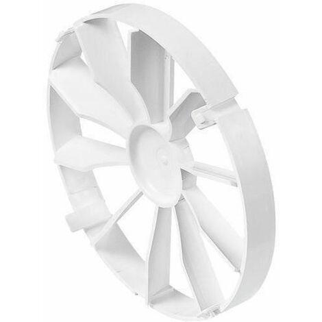 Clapet anti-retour pour ventilateur d'extraction extracteur backdraft vent obturateur 150mm