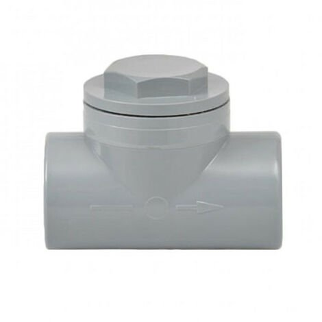 Clapet anti-retour PVC - plusieurs modèles disponibles