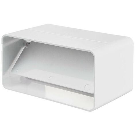 Clapet anti retour rectangulaire pour tube 60x122mm - Winflex ventilation