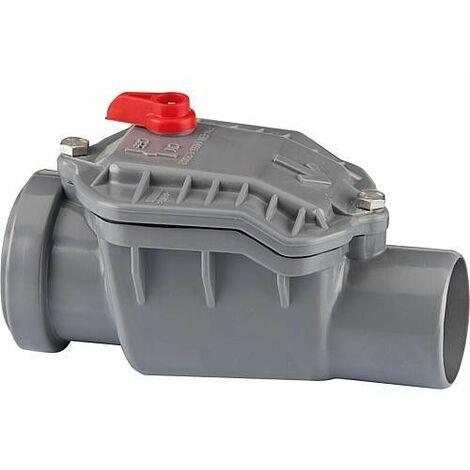 Clapet anti-retour type 1 50 mm - DN50 droit - fermeture auto clapet de protection inox