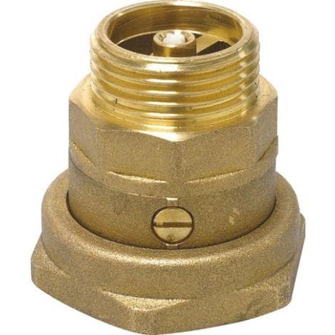Clapet anti-thermosiphon avec écrou tournant 40x49 mâle 26x34