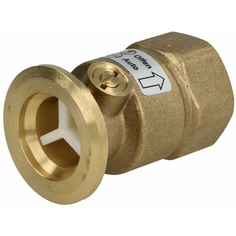 """Clapet anti-thermosiphon bride 1"""" x 1"""" FF avec écluse d'air"""