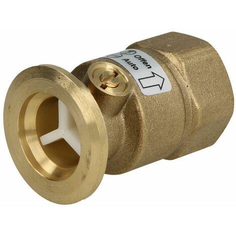 """Clapet anti-thermosiphon laiton 1""""FF"""