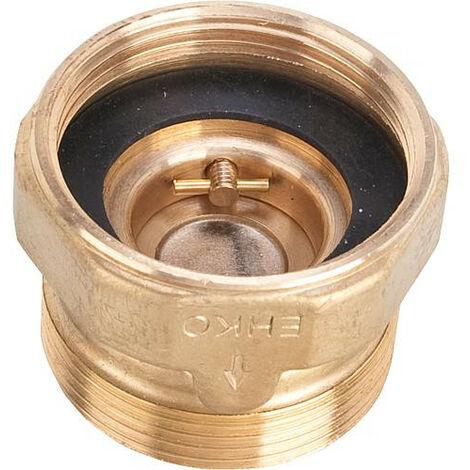 "Clapet anti-thermosiphon TS24 DN15 (1/2"") avec DN25 (1"") male/femelle"