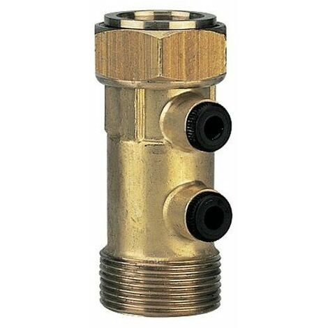 Clapet antipollution EA251 1 - Laiton - Mâle/Femelle - 10 bar