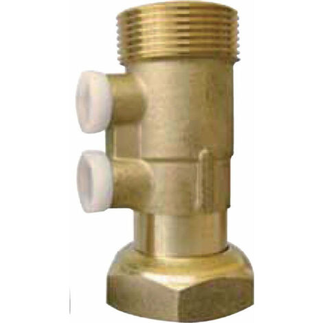 Clapet antipollution EA251, cps laiton a/bossage, F/M 1 1/2, SOCLA, Ref. 149B2114