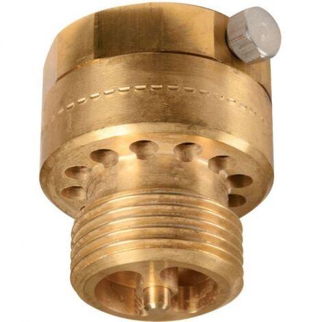 Clapet casse vide anti-siphon Male - Femelle pour robinet d'arrosage ou de machine à laver 20x27