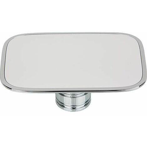Clapet de bonde Geberit blanc/ chrome pour bonde de lavabo myDay 595740000