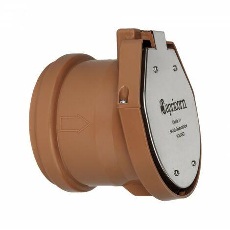 Clapet de nez 100/110 mm anti-remontée d'odeurs