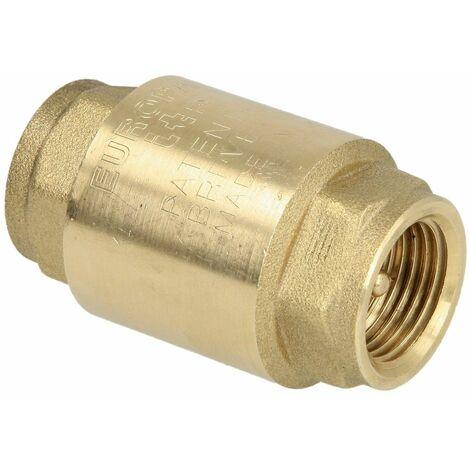"""main image of """"Clapet anti-retour - obturateur laiton - Femelle - Femelle BSP"""""""