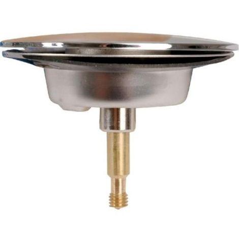 Clapet de vidage métal avec grille et vis