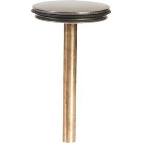 Clapet de vidage pour lav/bidet sur joint Diam39,5 tige Diam7, H 50/70 mn