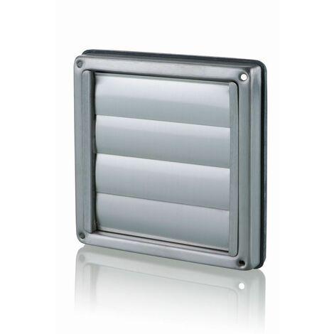 Clapet extérieur DN100 inox brossé