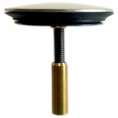 Clapet inox D.45 pour vidage baignoire à cable