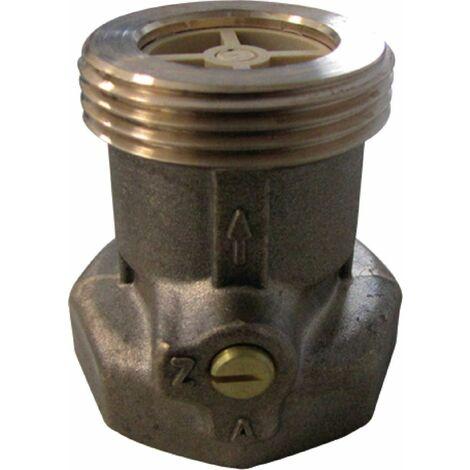 Clapet modèle accélérateur en laiton DN 25 - 26 x 34 :