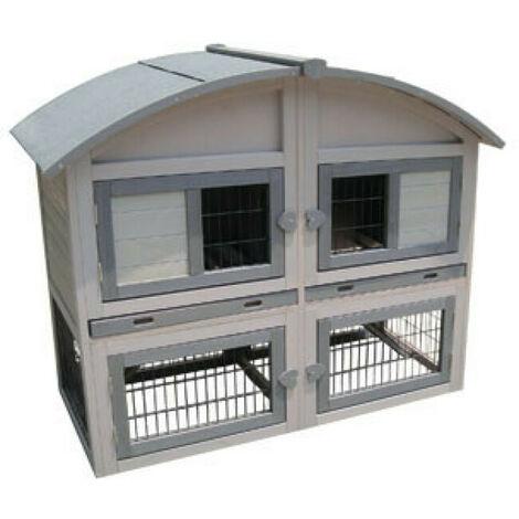 Clapier pour lapins Caravan Cottage