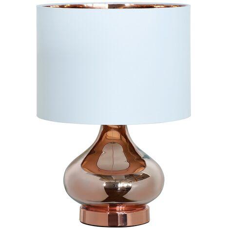 CLARISSA TABLE LAMP COPPER