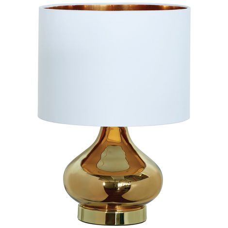 CLARISSA TABLE LAMP GOLD