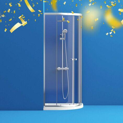 """main image of """"Clarity 4mm quadrant shower enclosure 800 x 800"""""""