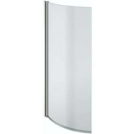 Clarity 5mm P shaped shower bath screen