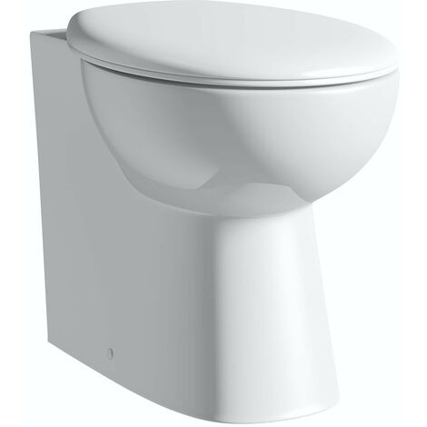 """main image of """"Clarity back to wall toilet with seat"""""""