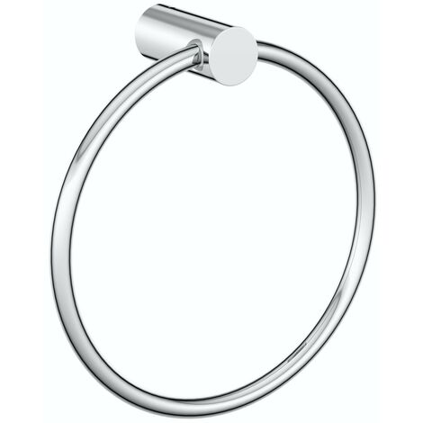 Clarity towel ring