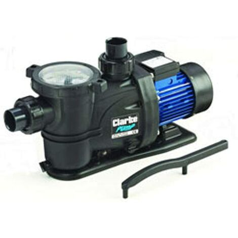 CLARKE 750 watts 1 HP SELF PRIMING SWIMMING POOL PUMP 230 volt
