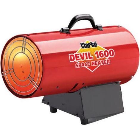 CLARKE DEVIL 1600 PROPANE FIRED SPACE HEATER