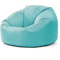 Classic Bean Bag Chair - 84cm x 70cm, Indoor Outdoor Large Bean Bags