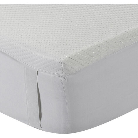 Classic Blanc - Topper/sobrecolchón Viscoelástico Confort Plus Aloe Vera 5cm