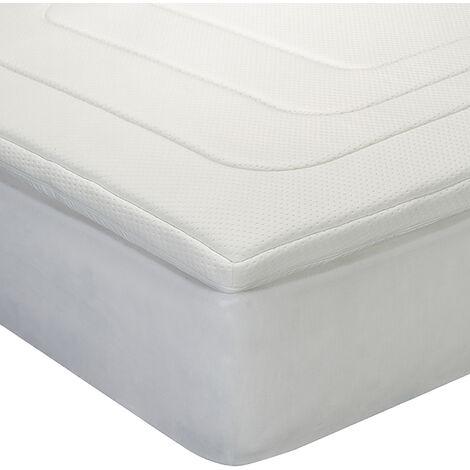 Classic Blanc - Topper visco antialérgico con ventilación extra 5 cm (3+2)