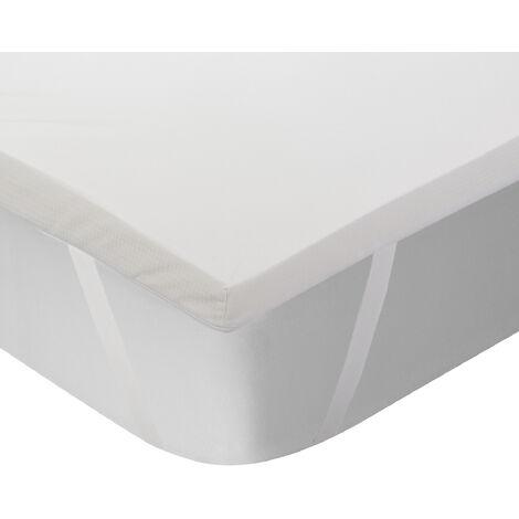 "main image of ""Classic Blanc - Topper viscoelástico termorregulador y transpirable de 5 cm"""