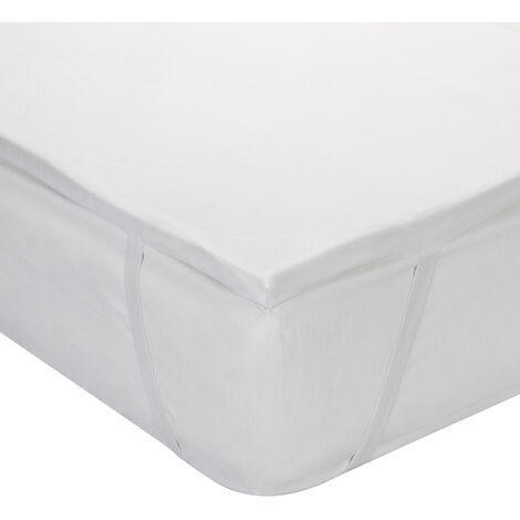 Classic Blanc - Topper viscoelástico transpirable de 3 cm muy confortable