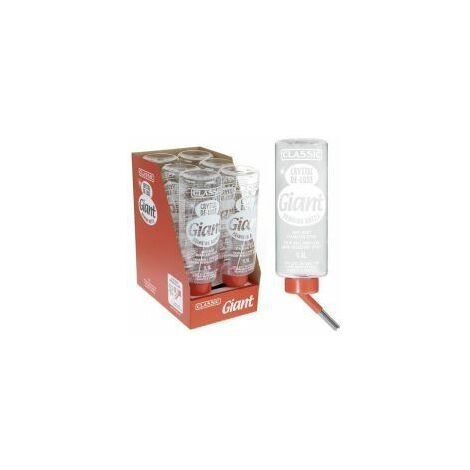 Classic Deluxe 'GIANT' Drinking Bottle - 1ltr - 536384