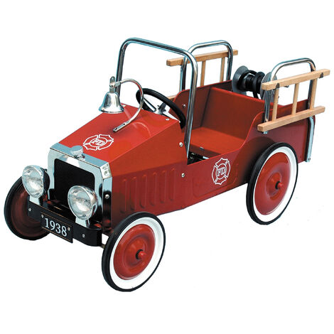 Classic Fire Engine Pedal Car