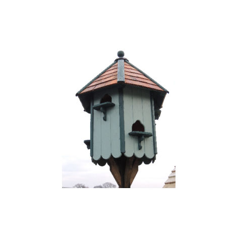 Classic Hexagonal Dovecote Medium