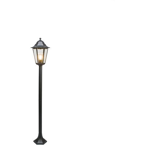 Classic outdoor lamp black 127.5 cm IP44 - New Orleans