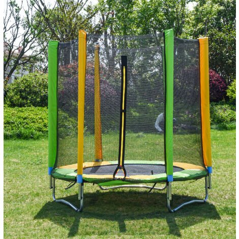 Classic outdoor trampoline Three U-shaped legs 150cm