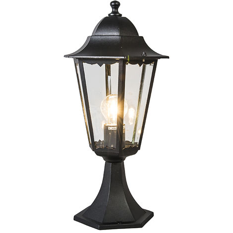 Classic Pedestal Black IP44 - New Orleans