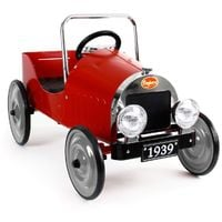 Classic Red Pedal Car