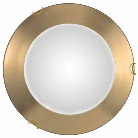 Classic style MOON gold ceiling light 1 bulb