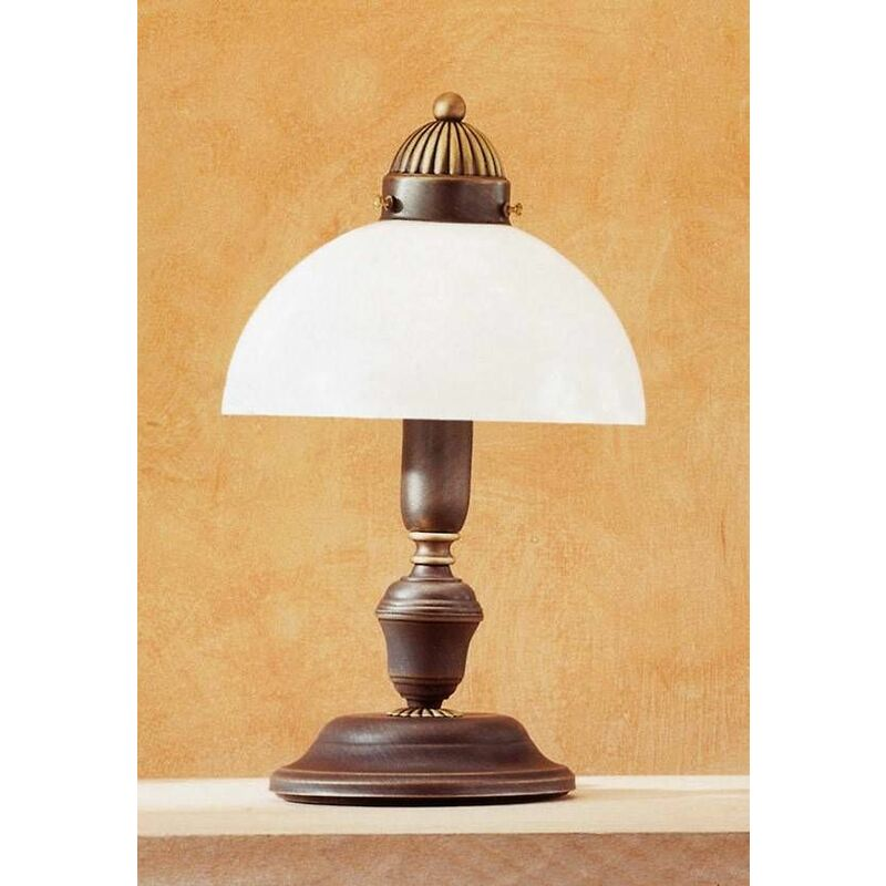 Image of 14-kolarz - Classic table lamp NONNA antique brass