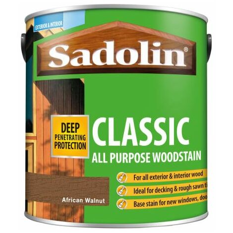 Classic Wood Protection African Walnut 2,5 Litre (SAD5028484)