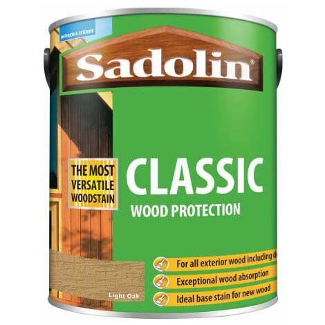 Classic Wood Protection Light Oak 5 Litre (SAD5012923)