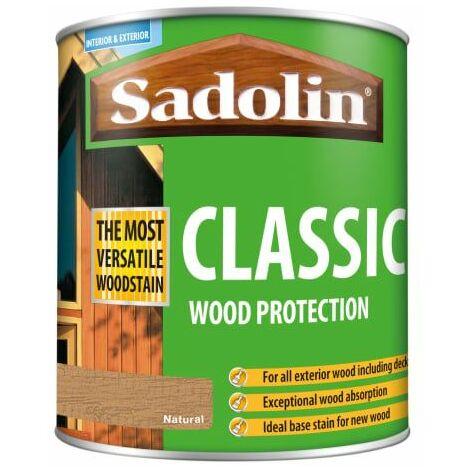 Classic Wood Protection Natural 1 Litre (SAD5028502)